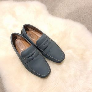 Bally Grey PVC Loafers